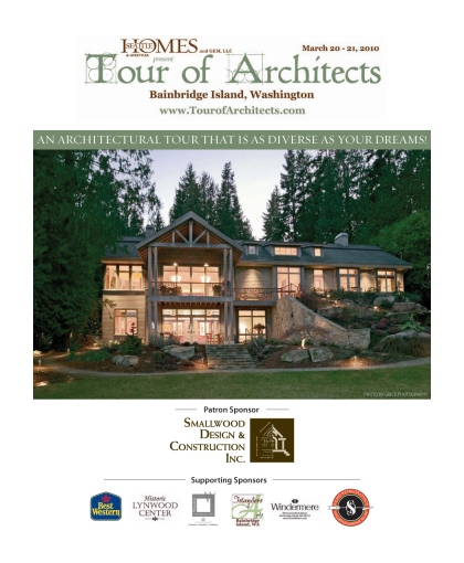 2010 Tour of Architects Program